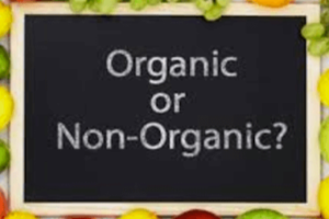 organic food for cooking