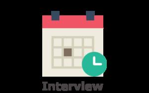 Employer schedule interview