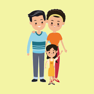 Chinese family look for happy and trustworthy helper