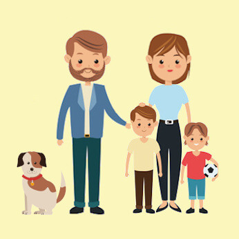 Expat Family of 4 with small dog in Tai Hang/Causeway Bay